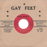 Valentines - Stop The Violence (Peace Treaty) / Stop The Violence (Alternative Take) (Gay Feet / Dub Store) JPN 7""